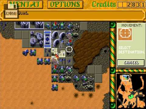 [PC]Dune 2: The building of a Dynasty   House Ordos 4