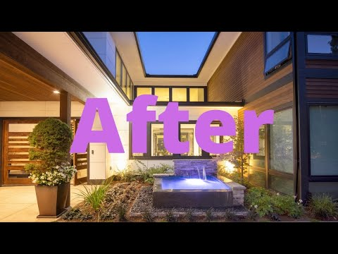 Modern Home Landscaping (Before and After)