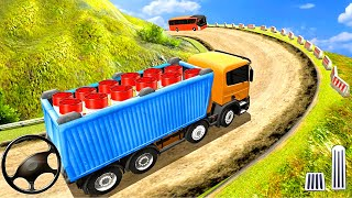 Indian Truck Spooky Stunt  Cargo Truck Driver #1- Android GamePlay
