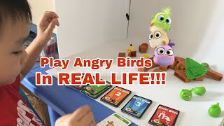 Play Angry Birds KNOCK ON WOOD - Toys Review