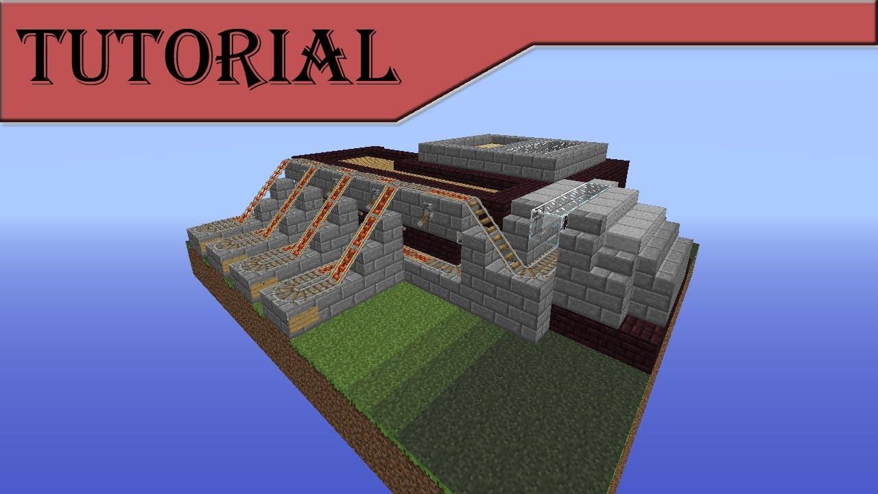 Tutorials/Train station – Official Minecraft Wiki