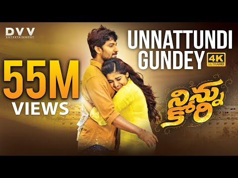 Mix - Ninnu Kori Telugu Movie Full Songs 4K | Unnattundi Gundey Video Song | Nani | Nivetha Thomas | Aadhi