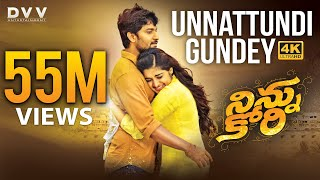 Download Video Ninnu Kori Telugu Movie Full Songs 4K | Unnattundi Gundey Video Song | Nani | Nivetha Thomas | Aadhi MP3 3GP MP4