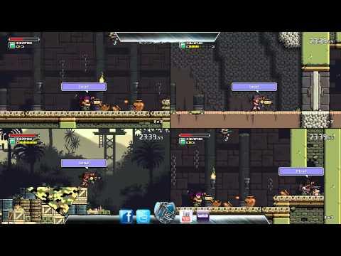 Mercenary Kings - 4 players - TPS - Third person shooter Retro !