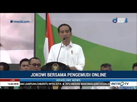 Jokowi Puji Bisnis Ojek Online Sebagai Inovasi Sumber Penghasilan Baru Mp3