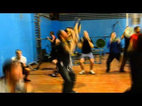 Рукопашный бой. Клуб ГЕРМЕС. Тренировка  (часть 6)