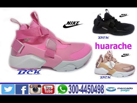 zapatos nike huarache mujer
