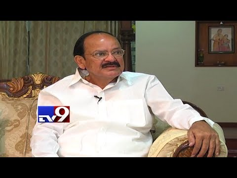 Mukha Mukhi with BJP Venkaiah Naidu - TV9