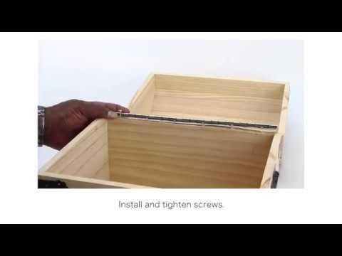 Stainless Steel Piano Hinge Installation Ideas