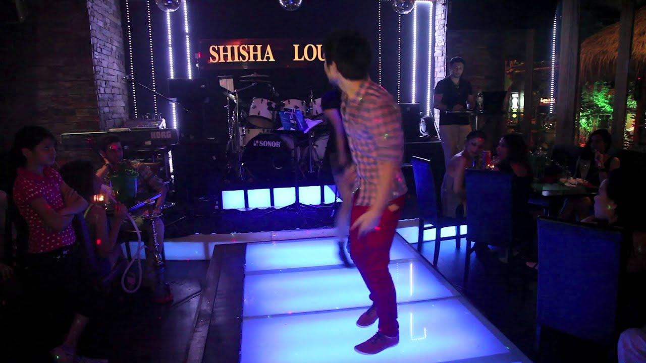 Hip hop dance at shisha lounge restaurant youtube - Shisha bar lounge mobel ...