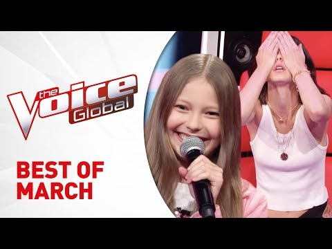 BEST AUDITIONS of MARCH 2019 in The Voice Kids