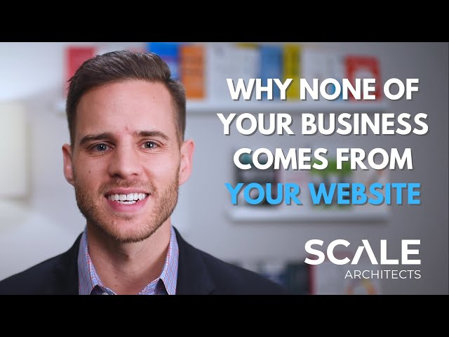 Why none of your business comes from your website