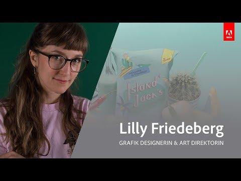Live Grafikdesign und Illustration mit Lilly Friedeberg - Adobe Live 1/3