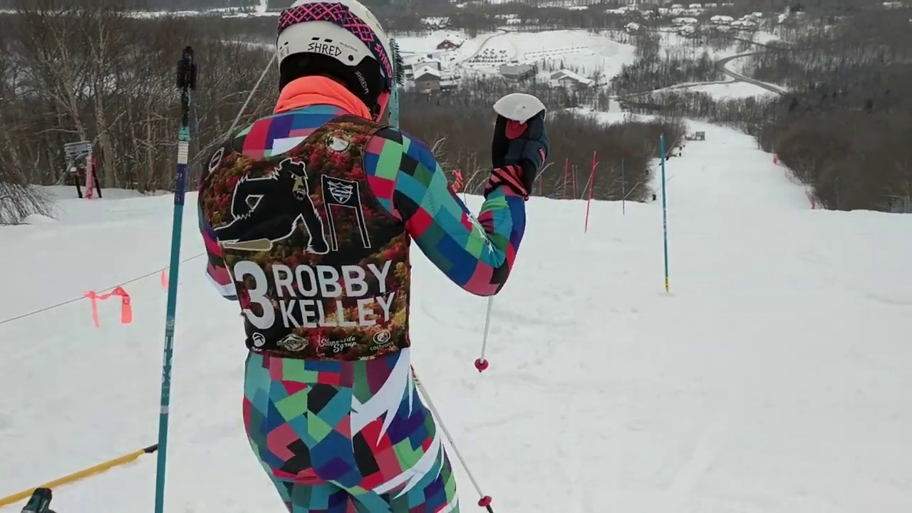 Slalom Training at Jay Peak, Vermont