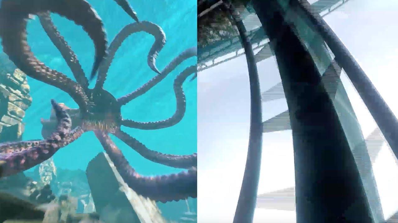 Download FULL Kraken Unleashed POV side-by-side VR roller coaster experience at SeaWorld Orlando