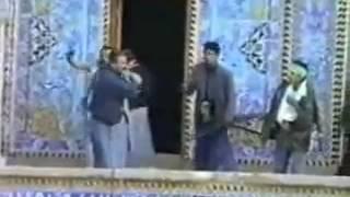ضرب الطاغية صدام لضريح الامام الحسين عام 1991