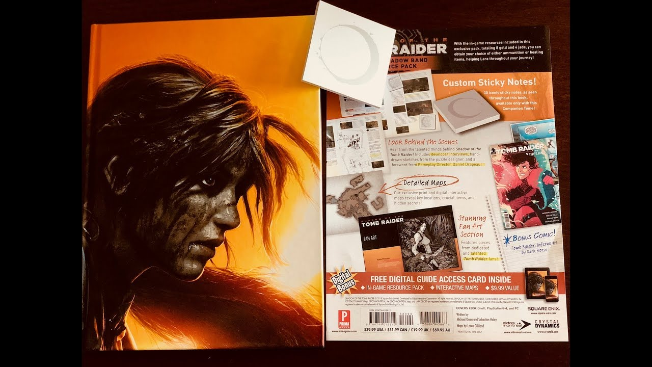 shadow of the tomb raider edition collector