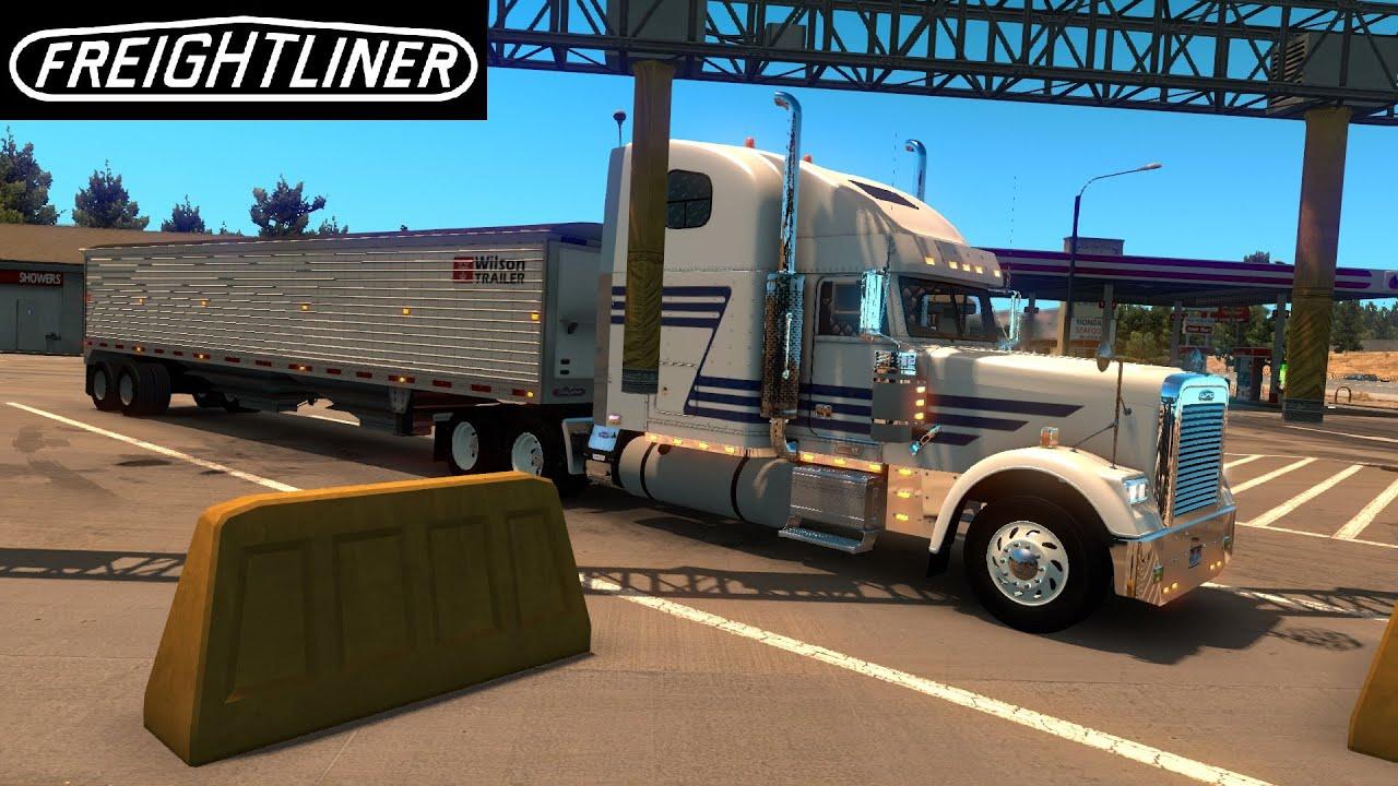 American truck simulator garage recap 7 freightliner for American classics garage