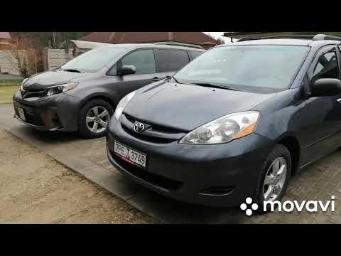 Сравнение Toyota Sienna 2 и Тойота Сиенна 3