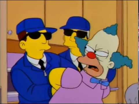 Krusty The Clown Caught For Tax Evasion