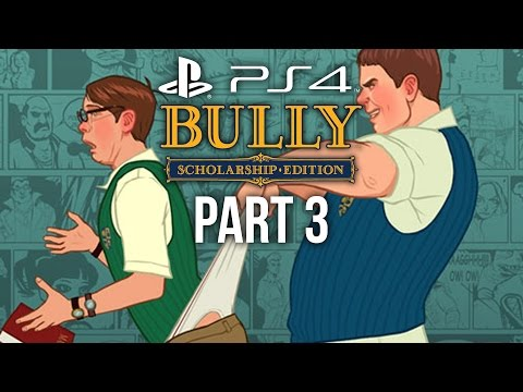 Bully PS4 Gameplay Walkthrough Part 3 - ULTIMATE WEDGIE (Canis Canem Edit)