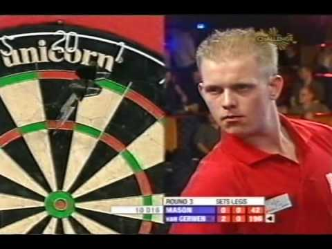 2007 US OPEN Darts 24 Gerwen vs Mason FULL  YouTube