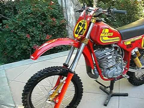 (For Sale) 1st Come 1st Serve - 1981 Maico 490 Retoration- Showroom or Race
