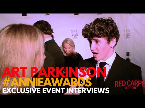 Art Parkinson KuboMovie ed at the 44th Annual Annie Awards ANNIEAwards AwardSeason