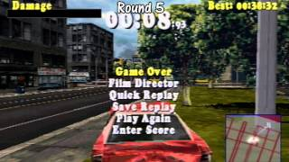 ABM: DRIVER Gameplay *Survival match* (PSX) HD