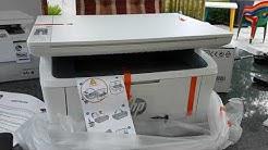 Unboxing HP LaserJet Pro MFP M28w