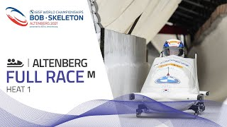 Altenberg | BMW IBSF World Championships 2021 - 2-Man Bobsleigh Heat 1 | IBSF Official