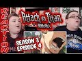 Attack on Titan Season 3 Episode 4 (Ep 41) REACTION!! 'Trust'