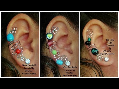 Wire Ear Cuffs Tutorial