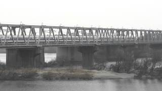 2012年2月1日 木曽川橋 300系上り