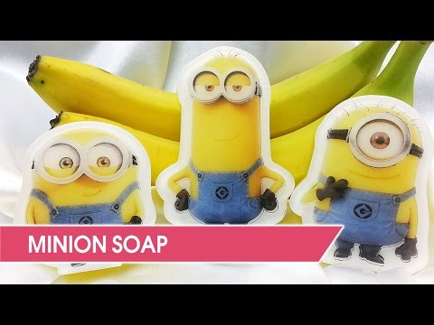 DIY: How to make Minions soap using custom pictures.