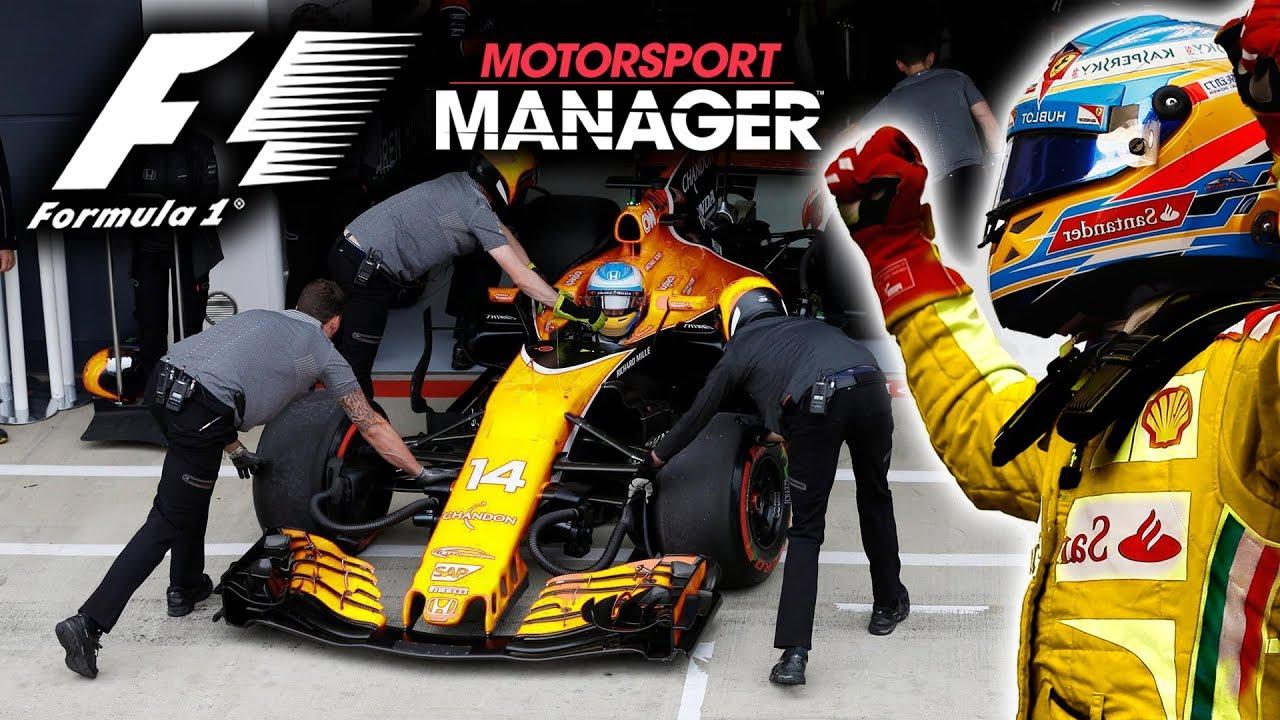 we 39 re back great race to return to f1 motorsport manager pc youtube. Black Bedroom Furniture Sets. Home Design Ideas