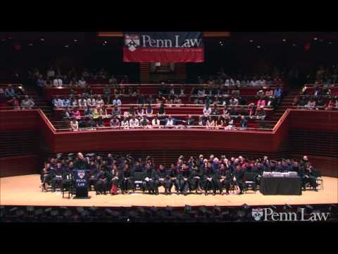 2015 Commencement: Commencement Address, Cass R  Sunstein