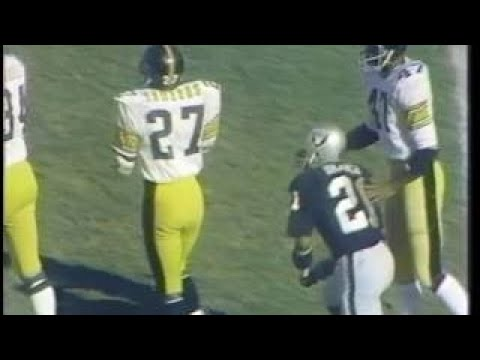 1974 WK 16 AFC Championship Pittsburgh Steelers 11 3 1 @ Oakland Raiders 13 2 }}