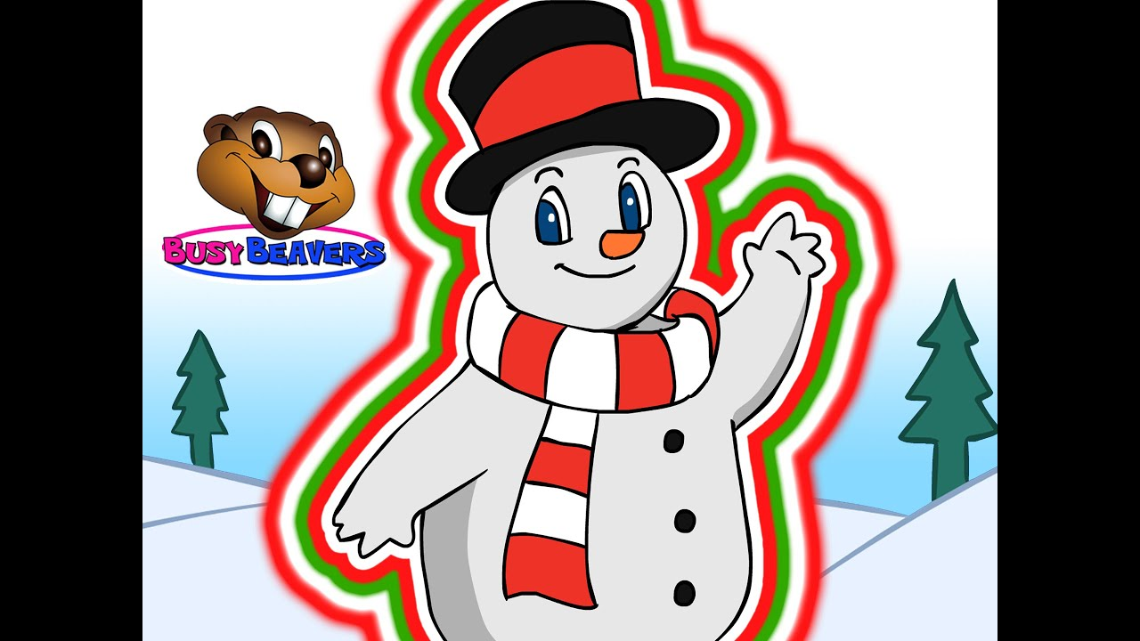 """""""frosty The Snowman""""  Busy Beavers Christmas Song, Babies"""