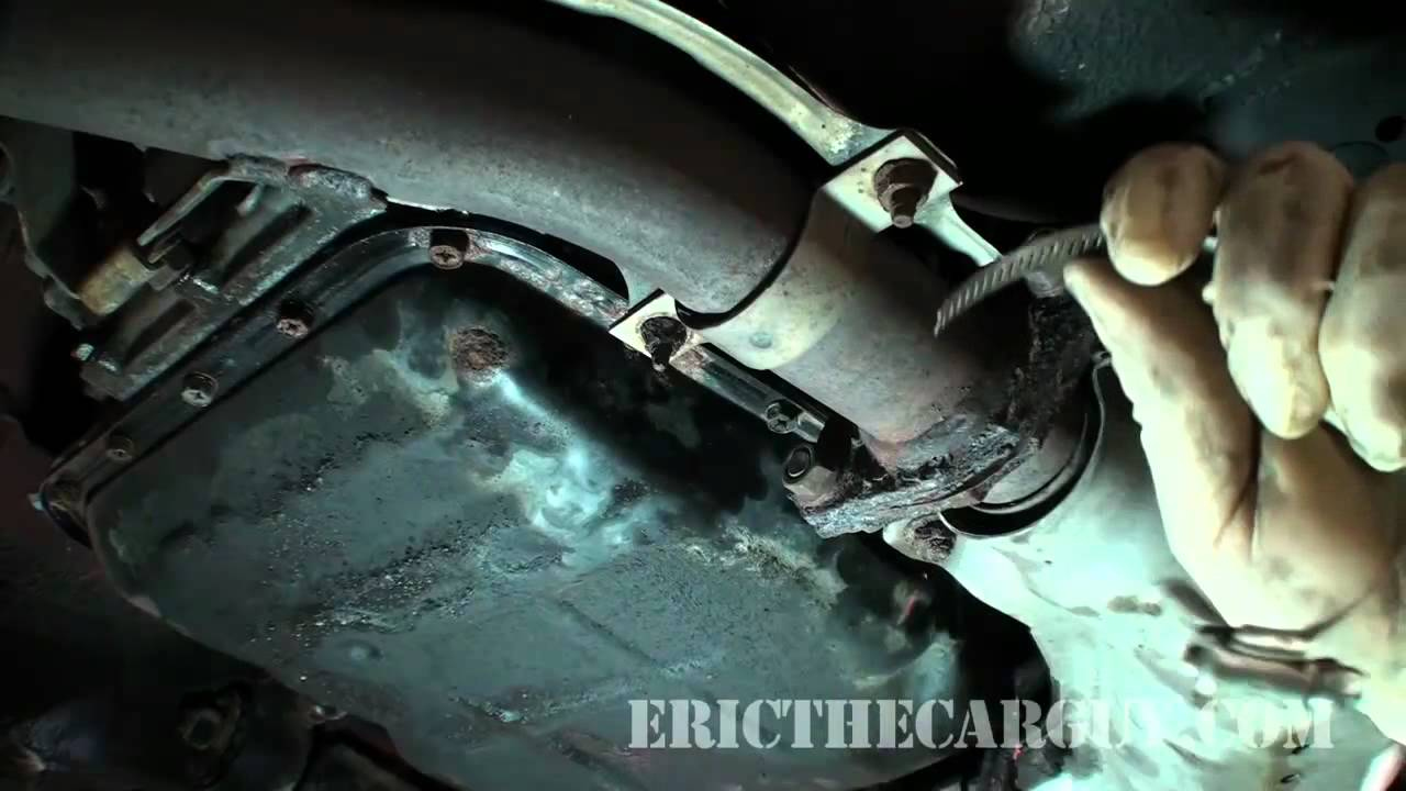 how to fix exhaust rattles - ericthecarguy