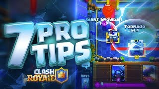 7 Tips ONLY Professional Players Know in Clash Royale!!