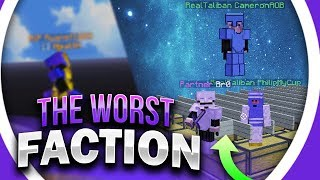 We are the WORST faction in history... + outnumbered PvP WIN... | Minecraft Factions