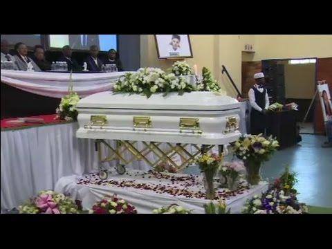 Karabo Mokoena's funeral service