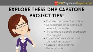 DNP Capstone Project Writing Tips