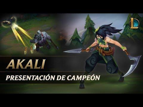 Presentación de campeón: Akali | Jugabilidad - League of Legends