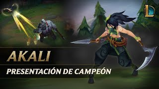 Presentación de campeón: Akali | Jugabilidad - League of Legends thumbnail