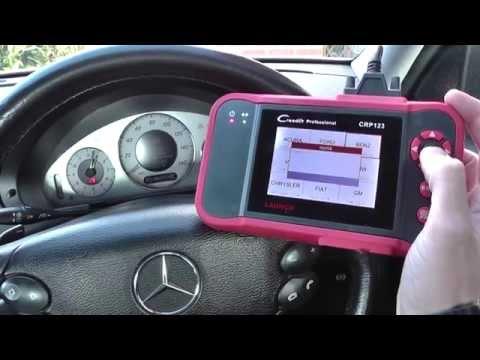 Mercedes E Class ABS EBV ESP Warning Light Diagnose 44F1