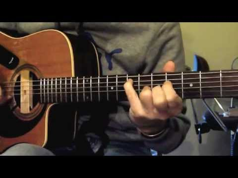 Fionn's fingerstyle guitar in Daddad tuning