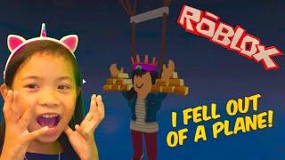 Roblox - Plane Crazy. ¡No sabía cómo construir así que me fui a dar un paseo!