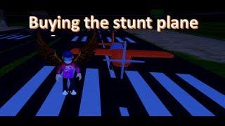 JAILBREAK BUYING STUNT PLANE! (ROBLOX)